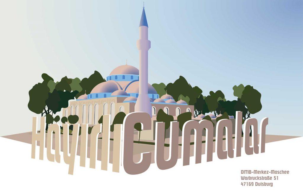 Merkez Moschee Hayirli Cumalar