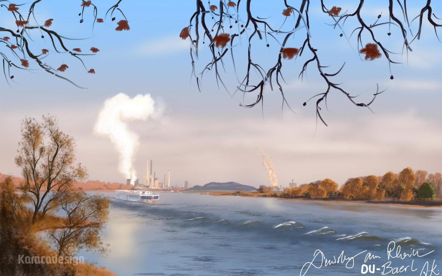 Rhein Duisburg Baerl