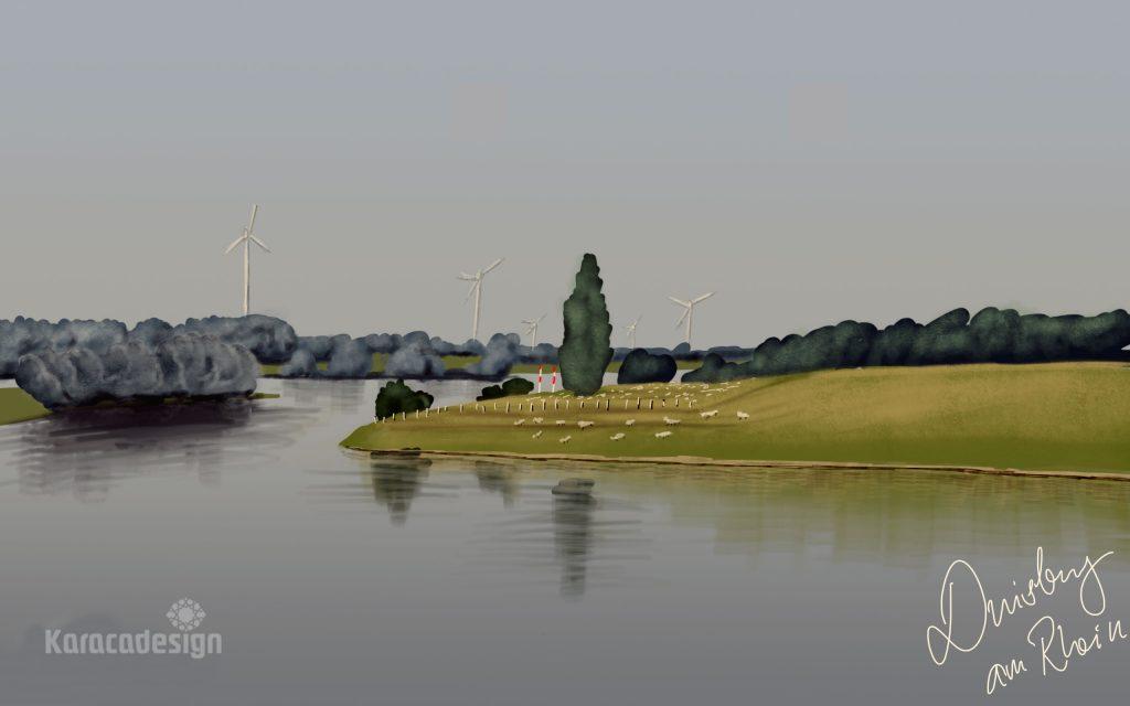 Rhein Walsum ion Duisburg