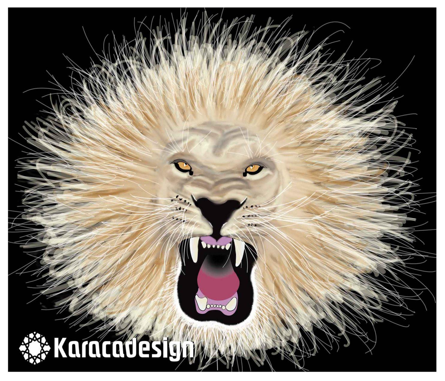 Lion graphic