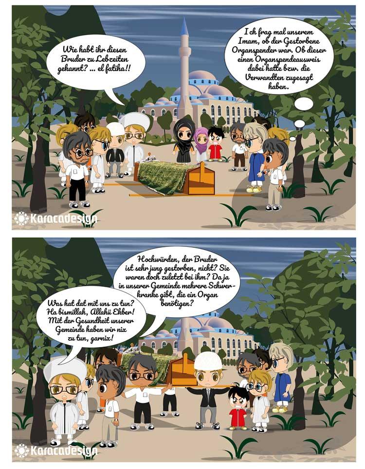 Kleine Janitschare über Organspende, Verwandten und der Imam