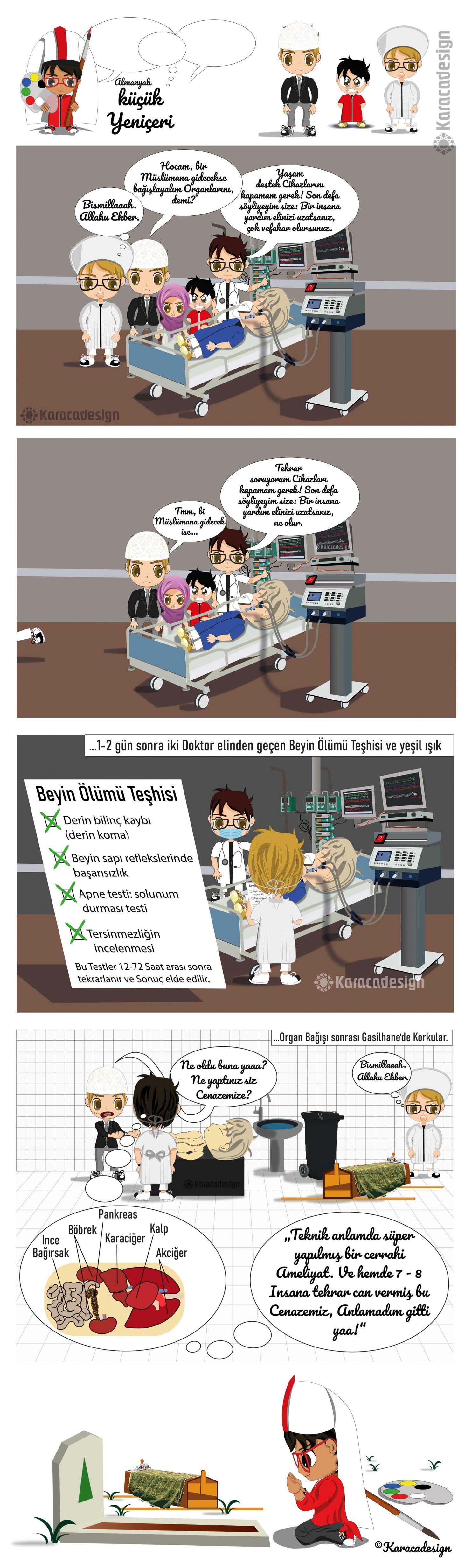 beyin ölümü teşhisi ve organ bağışı