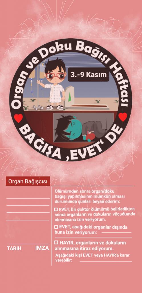 Organ Bağıscısi kimliği