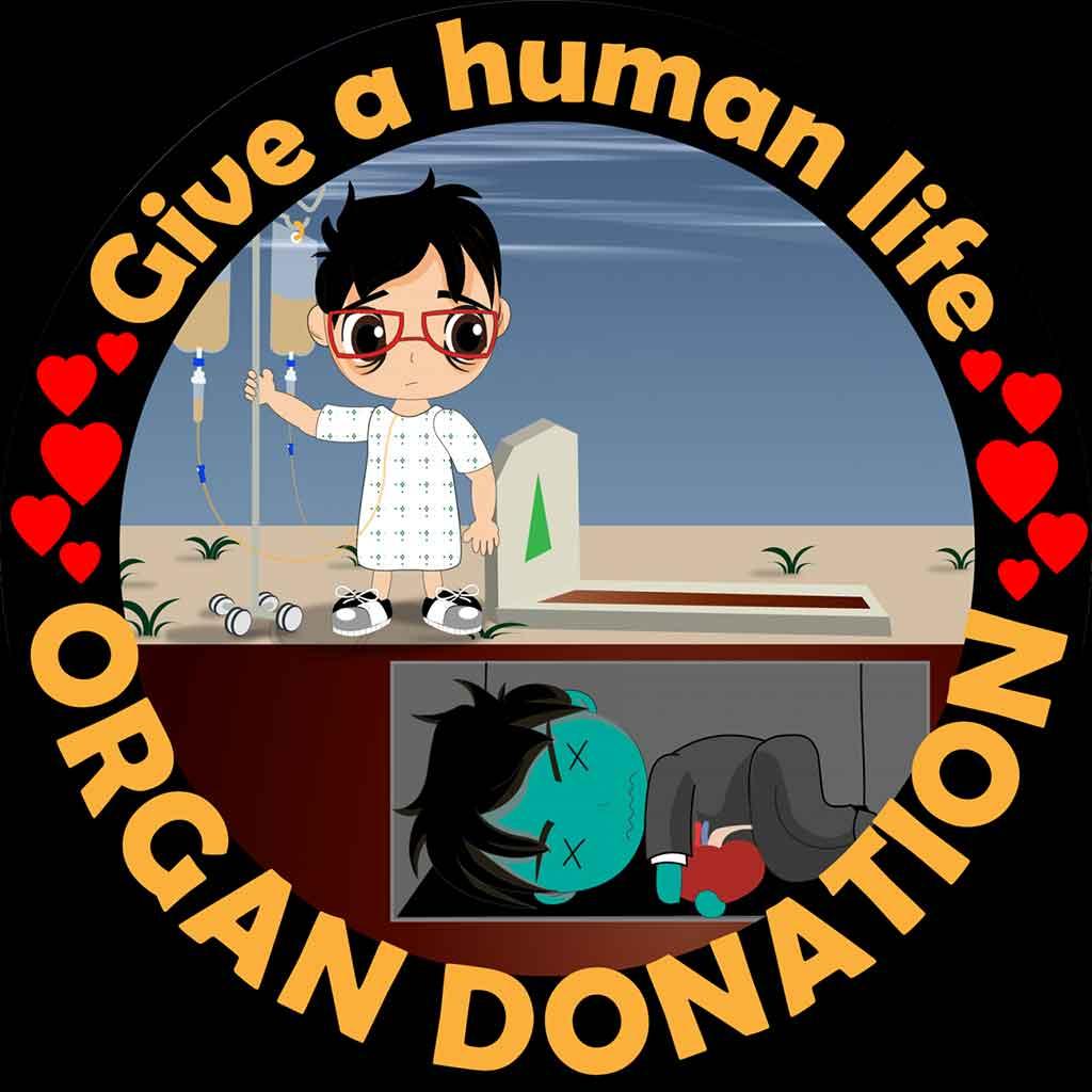 Give a human life